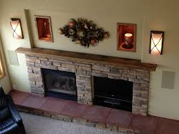 barn beam reclaimed wood fireplace mantel u2014 farmhouse design and