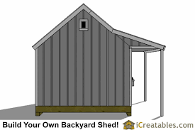 12x20 cape cod shed with porch plans icreatables