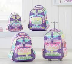 Pottery Barn Batman Backpack Mackenzie Rainbow Hearts Backpack Pottery Barn Kids