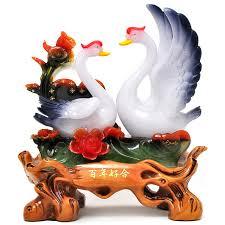 wedding gift ornaments bainianhaoge swan wedding gift ideas ornaments fashion friends