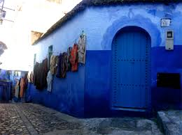 Morocco Blue City by Chefchaouen Morocco Google Search The Sky Grew Darker Painted