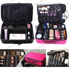 professional makeup carrier pro large makeup bag cosmetic storage handle organizer artist