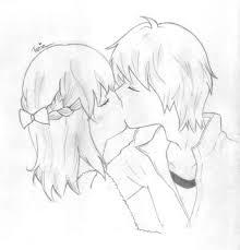 kissing sketch 3 by elfeunhaeshipper on deviantart
