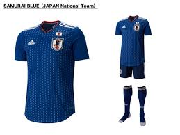 desain kaos futsal jepang japan national team s new kit released japan football association