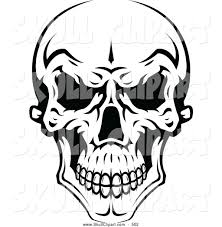 spooky cemetery clipart royalty free black and white stock skull designs page 2