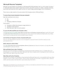 create your own resume template resume microsoft office resume template