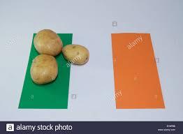 irish flag and potatoes stock photo royalty free image 52389548