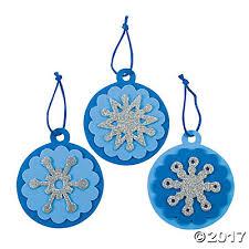 snowflake christmas ornament craft kit