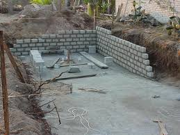 house building in pinal villa costalegre building a swimming pool