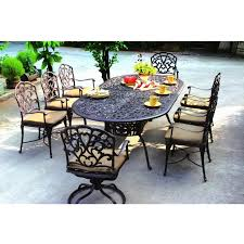 Living Spaces Dining Sets by Patio Dining Sets For 8 Trend Pixelmari Com