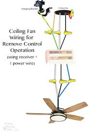 how to wire a ceiling fan with 4 wires how to install a ceiling fan pretty handy
