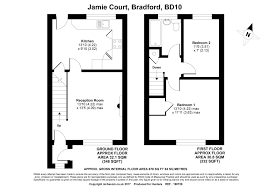 bradford floor plan 2 bed end terrace house for sale in jamie court bradford bd10