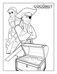 pirate coloring pages coloring pages