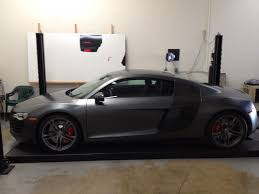 audi r8 wrapped invisible edge vehicle wraps