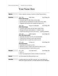 Sample Resume Word Format by Free Resume Templates 87 Astonishing Microsoft Office 2010