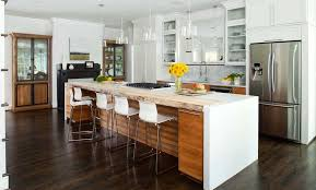 kitchen island with stools ikea black and white bar stools how to choose use them throughout kitchen