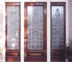 Sidelight Windows Photos Custom Leaded Glass Entry U2014 Door 2 Sidelights Intricate Custom