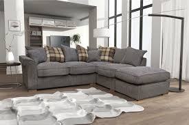 Large Corner Sofa New Fable Large Corner Sofa Scatter Back With Free Footstool