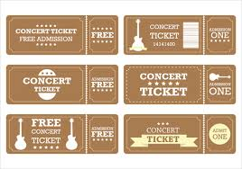 ticket template 9 entry ticket templates free psd ai vector eps
