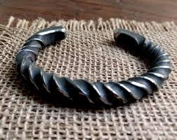 titanium bracelet cuff images Titanium bracelet etsy jpg