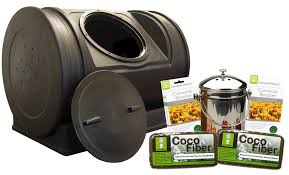 amazon com good ideas ezcjr sta compost wizard starter kit