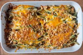 green bean and sour casserole