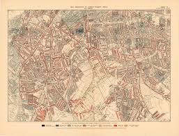 Chicago Map 1890 by How Poor Were People Living In Victorian London Charles Booth U0027s
