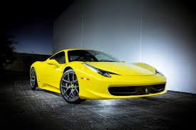 ferrari yellow 458 2013 ferrari 458 italia by vorsteiner review top speed