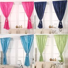 Short Curtains For Living Room by Aliexpress Com Buy Fashion Solid Window Blinds Short Curtains