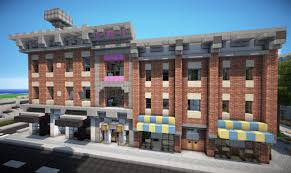 victorian style town hotel world keralis minecraft project