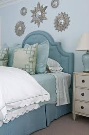 lovely blue upholstered headboard with best 25 blue headboard