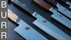 Katana Kitchen Knives Miyabi Mizu Vs Artisan Vs Birchwood Vs Fusion Morimoto Gyuto Chef