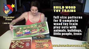 Plans For Wooden Toy Trains by Wood Toy Plans Four Great Books For Scroll Saw And Table Saw