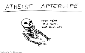 Toothpaste Meme - atheist afterlife toothpaste for dinner know your meme