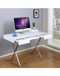 Chrome Office Desk Shopping Deals On Brand Furniture Contemporary Style