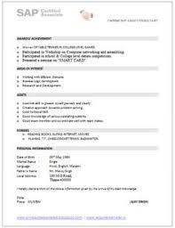 Best Resume Format For Mba Freshers Resume Sample In Word Document Mba Marketing U0026 Sales Fresher