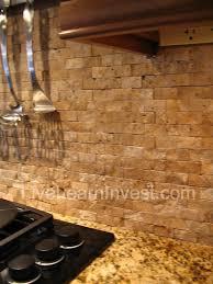 Kitchen Stone Backsplash by 64 Best Kitchens Tile With Color Images On Pinterest Kitchen