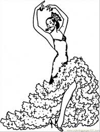 fashion coloring pages pages flamenco countries