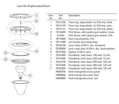 amerlite pool light parts pool supply unlimited pentair amerlite pool light for inground