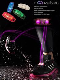 electric led style running shoe light motion activated