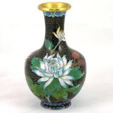 Antique Cloisonne Vases 10 1 4