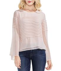 white bell sleeve blouse bell sleeves s casual dressy tops blouses dillards com