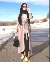 desain baju gamis hamil gambar model baju kerja muslimah modern terbaru 2018 info kebaya
