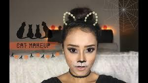 Giraffe Halloween Makeup Cat Makeup Look Cute U0026 Simple Look For Halloween Bahasa