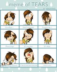 Tears Meme - 1308482 artist stuflox bowtie clothes crying deviantart meme