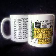 Periodic Table Mug Science Things Periodic Table Of The Elements Coffee Mug