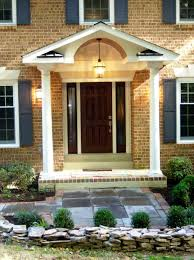 decor distinctive wooden also front porch designs home ideas