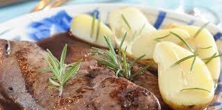 cuisiner le foie de veau foie de veau au vinaigre de framboise facile recette sur