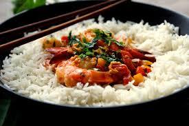 recette cuisine wok bienvenue chez spicy gambas à la thaï plancha ou wok recette en