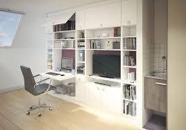 bureau dans placard bureau sous pente bureau schmidt amenagement etagere chambre